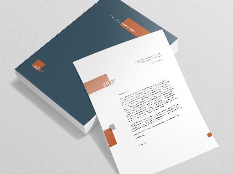 alter letterhead