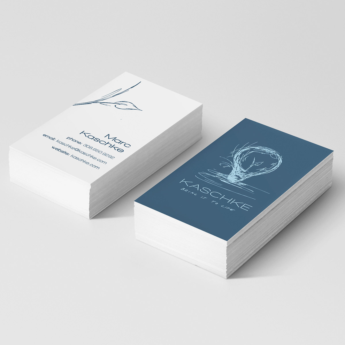 kaschke business cards
