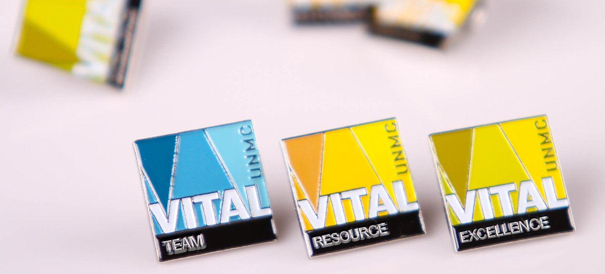 unmc vital campaign pins