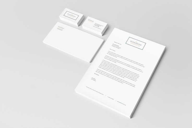 peter kiewit collateral